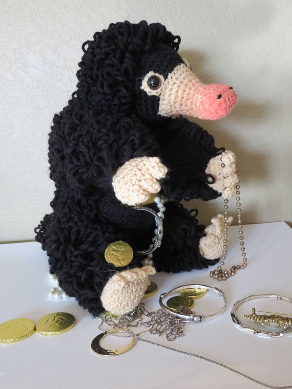 Niffler crochet pattern updated amigurumi fantastic | Etsy