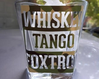 Military  Whiskey Glasses. Air Force Glasse, Army glass, marine glass, Whiskey, Tango, FoxTrot glass, whiskey glasses, mens glass