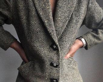 2fc3434d61bd vintage tweed blazer