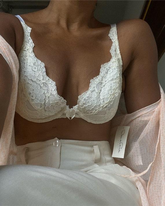 vintage romantic bridal feminine lace brassiere
