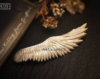 MW B1020 The 925 Silver Guardian Angel Brooch