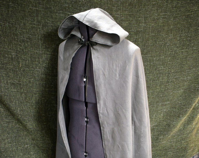 Featured listing image: Linen Hooded Cloak