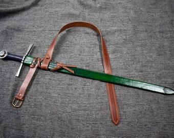 Custom Leather Scabbard