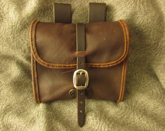 Handmade Leather Possibles Bag
