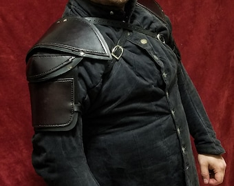 Leather Shoulder Armor Style 2
