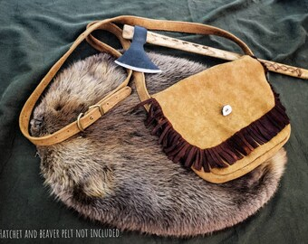 Frontier Suede Saddlebag