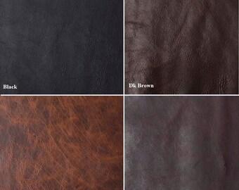 Handmade Bison Leather Pocket Slip With Clip