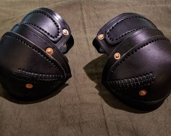 Leather Elbow Armor.