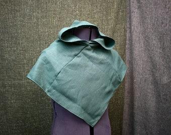 Linen Viking Hood
