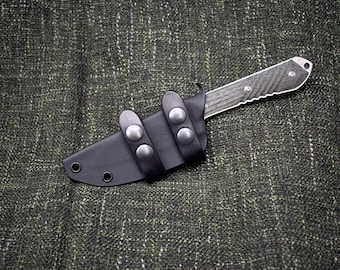 Scout Style Kydex Sheath for the Insingo Chris Reeve Nyala