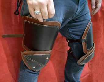 Leather Knee Armor