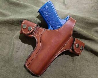Handmade Leather Quick Detach Holster