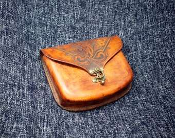 IN STOCK Large Celtic Flower Pouch