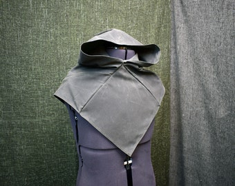 Waxed Canvas Viking Hood