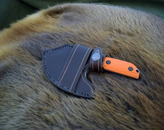 Leather Scout Sheath for the Benchmade Nestucca Cleaver