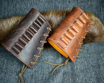 Upgraded Handmade Leather Rifle Buttstock Cover