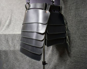 Leather Upper Leg Armor