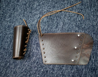 Simple Leather Bracers