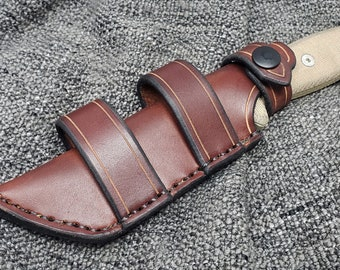 Handmade Leather Sheath for the ESEE 4