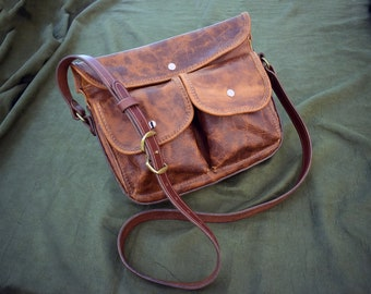 "The ""Missy"" Crossbody Saddlebag."