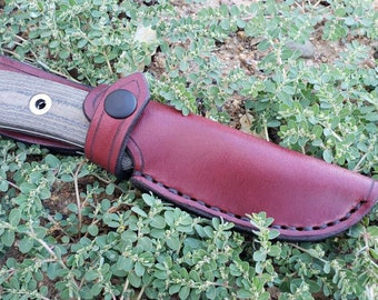 Leather Sheath for the Benchmade Pardue Hunter