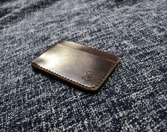 """IN STOCK Horween Shell Cordovan """"Manu"""" Wallet"""
