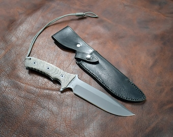 Handmade Leather Sheath for the Chris Reeve Pacific