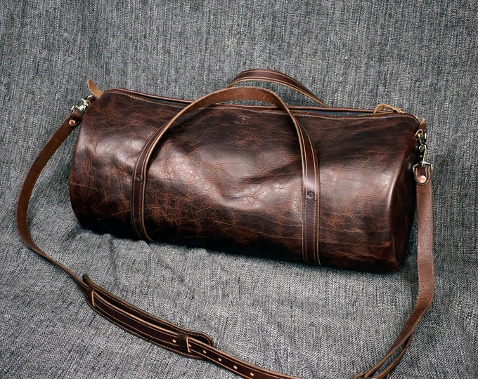 Featured listing image: Bison Leather Duffel Bag