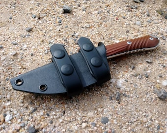 Scout Style Kydex Sheath for The Drop Point Chris Reeve Nyala