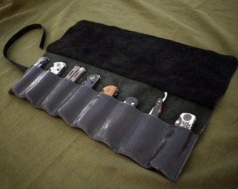Handmade Leather Knife/Tool Roll