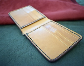 Handmade Hermann Oak Bridle Leather Wallet