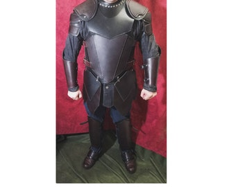 Full Suit of Handmade Leather Armor