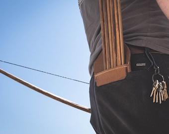 Leather Pocket quiver