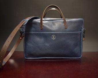 Horween Leather Briefcase Satchel