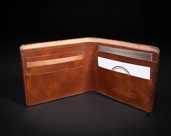Italian Leather Bifold Wallet