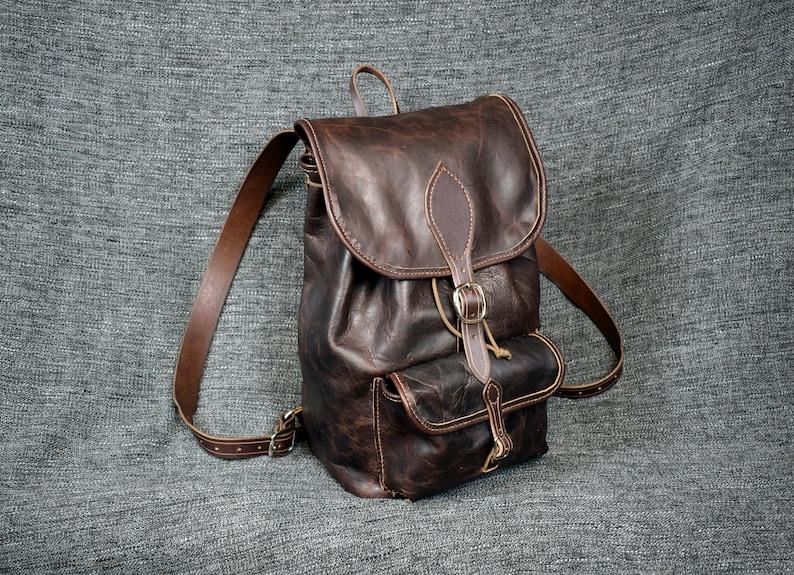 TheOutlaw Bison Leather Saddlebag Satchel