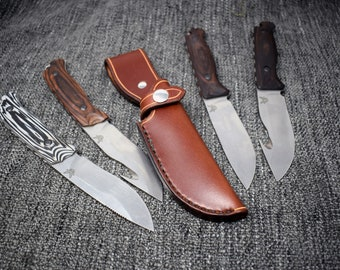 Handmade Leather Sheath For The Benchmade Saddle Mountain Skinner