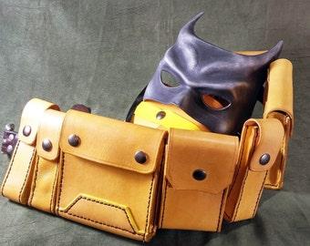 Batman Leather Utility Belt