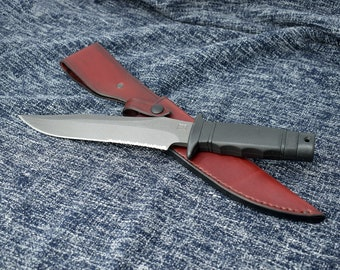 Handmade Leather Sheath for the SOG Tigershark