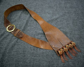 Bison Leather Baldric