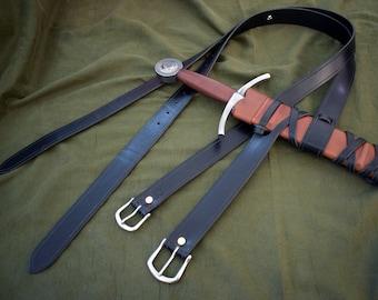 Integrated Sword Belt
