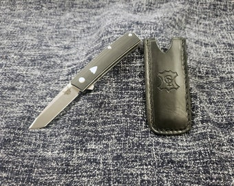 Leather Pocket Slip for the Benchmade Tengu
