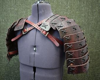 Samurai Style Shoulder Armor