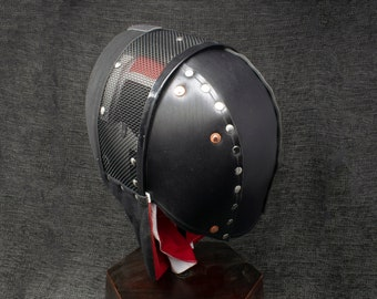 Riveted Back of the Head Protection