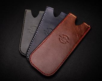 Handmade Leather Pocket Slip