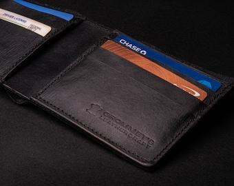 Handmade Leather Bifold Wallet