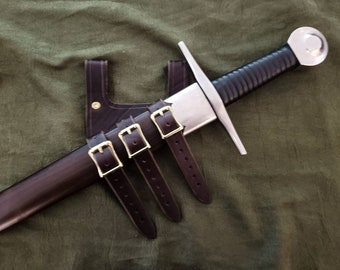 Handmade Leather Sword Frog