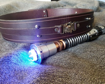 Handmade Leather Jedi Belt