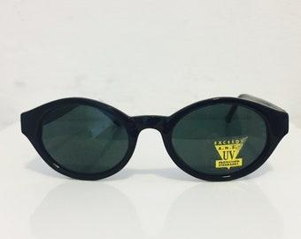 62c836b0fdec Vintage 1990s Black Cat Eye Sunglasses  50s Style Black Cat Eye Sunglasses   Rockabilly 1950s Cat Eye Sunglasses  1950s Shades