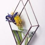 Hanging Argyle Vase /Copper/